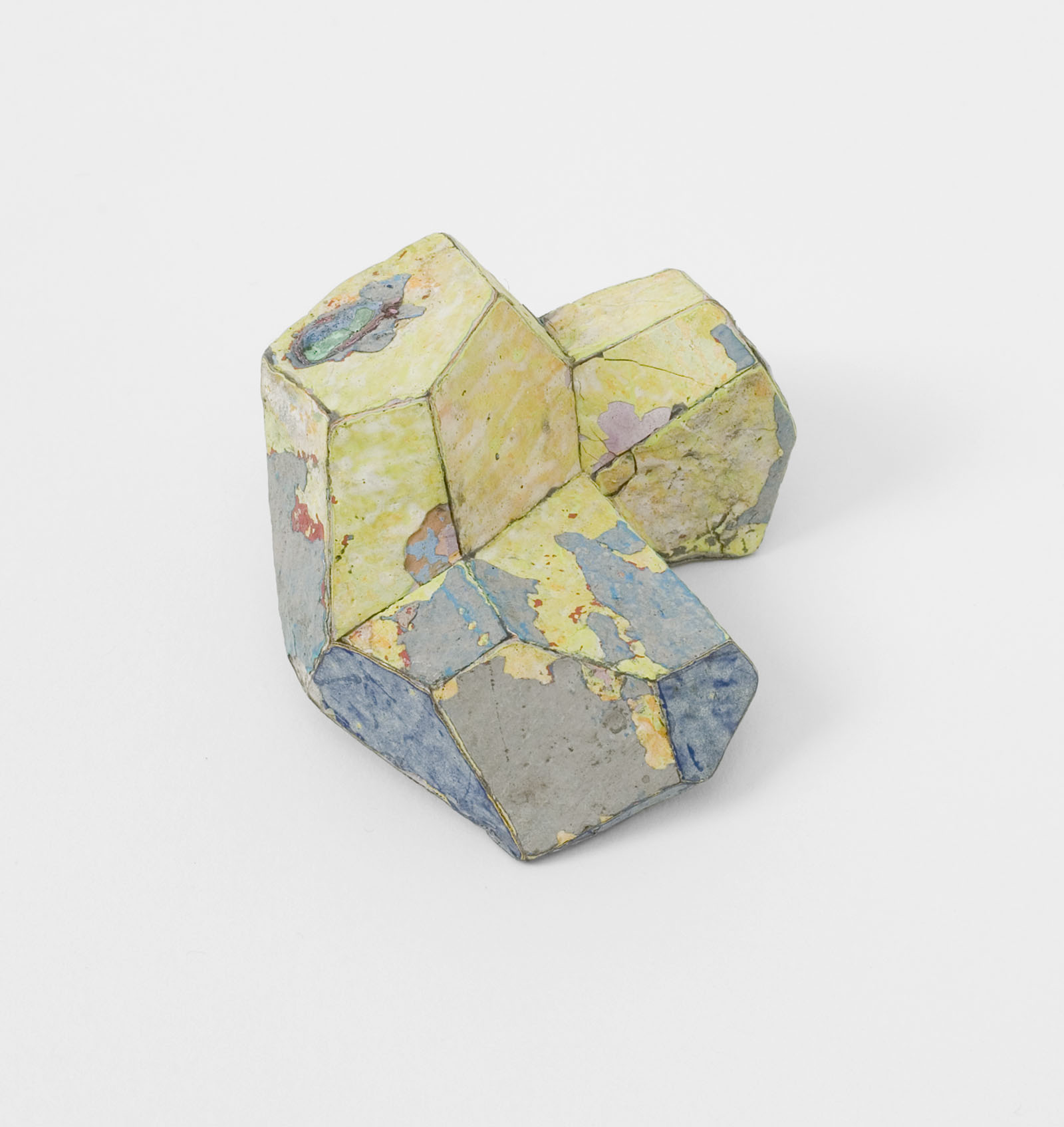 """Bright Yellow"" I Brooch, 2012 I Graffiti, silver, stainless steel I Photo: Mirei Takeuchi"