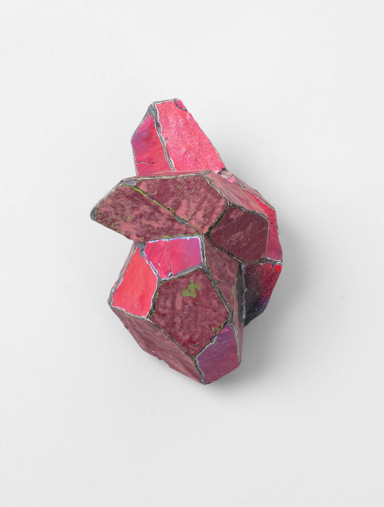 """Pink"" I Brooch, 2012 I Graffiti, silver, stainless steel I Photo: Mirei Takeuchi"